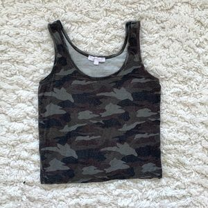 Don't Ask Why x American Eagle Camo Tank ONE SIZE
